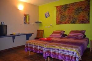 Duikvakantie Bonaire Djambo vakantieduiker slaapkamer