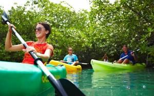 Duikvakantie Bonaire Eden Beach Resort vakantieduiker kayak