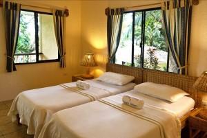 Duikvakantie Filipijnen vakantieduiker Sipalay slaapkamer
