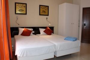 Duikvakantie Gozo Malta slaapkamer lodge vakantieduiker