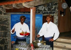 Duikvakantie Kaapverdie Hotel Odjo D'agua staff vakantieduiker