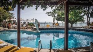 Duikvakantie Kaapverdie Hotel Odjo D'agua zwembad vakantieduiker