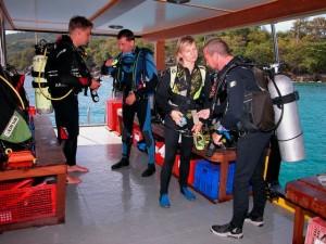 Duikvakantie Thailand duikdek vakantieduiker