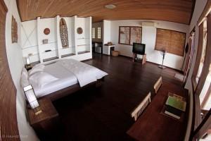 Sorido slaapkamer Duikvakantie Raja Ampat Indonesie Vakantieduiker