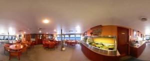 duikvakantie australie liveaboard ocean quest dining room vakantieduiker