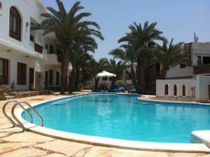 Duikvakantie Egypte Dahab Zwembad Vakantieduiker