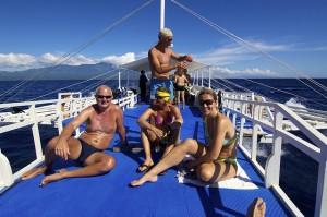 duikvakantie filipijnen boot bangka vakantieduiker