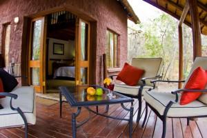 duikvakantie safari zuid afrika mozambique grand kruger lodge - veranda vakantieduiker
