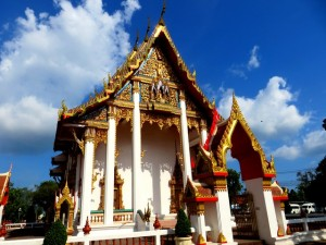 duikvakantie thailand palm garden resort phuket tempel