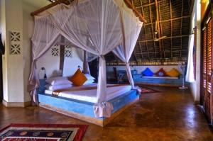 duikvakantie zanzibar slaapkamer vakantieduiker